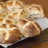 Apple and Cinnamon Hot Cross Buns