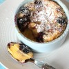 Blackberry and Almond Clafoutis