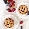 Mixed Berry Lattice Pies