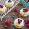 Berry Buttermilk Cupcakes
