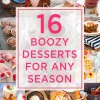 16 Favourite Boozy Desserts for Any Season
