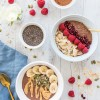 Warm Chocolate Chia Porridge Two Ways