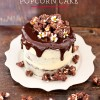 Spiced Chocolate Popcorn Cake