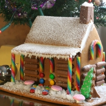 Daring Bakers: Gingerbread House