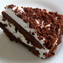Devil's Food White Out Cake