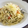 Simple Dinners 04 / Crab & Chilli Spaghetti