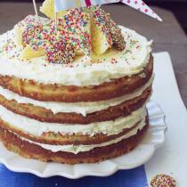 Funfetti Fairy Bread Cake