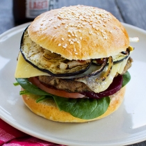 Simple Dinners 06 / Lamb Burgers Our Way and Homemade Burger Buns