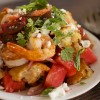 Simple Dinners 07 / Prawn and Watermelon Panzanella
