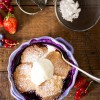 Mixed Berry Cobbler with Buttermilk Pastry