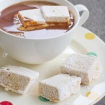 Salted Caramel Marshmallows and a guest post!