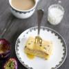 Vanilla Passionfruit Slice