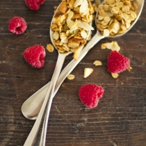 Ginger and Coconut Granola