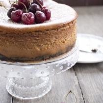 Chocolate Cherry Bourbon Cheesecake + 13 Ways with Cherries