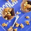 Chocolate Mousse with Bourbon Caramel Popcorn