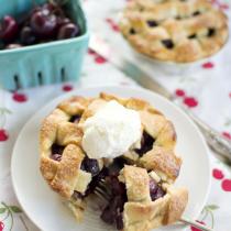 Cherry & Pimm's Pie
