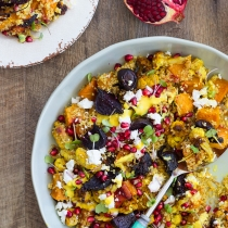 Simple Dinners 16 / Roasted Vegetable Salad with Quinoa