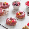 Mulled Wine Glazed Doughnuts for Christmas in July