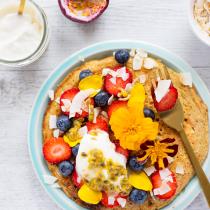 Carrot Cake Ricotta Pancake - Café Style Breakfast