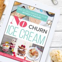 FREE No Churn Ice Cream Ebook!