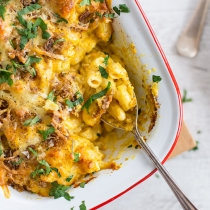 Simple Dinners 18 / Pumpkin Cauliflower Mac and Cheese