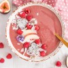 Raspberry and Cacao Smoothie Bowl