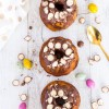 Mini Choc Malt Marbled Bundt Cakes