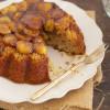 Caramelised Banana and Rum Cake