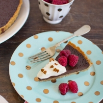 Gingerbread Chocolate Tart
