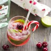 Thursday Tipples 06 / Cherry Candy Cane Mojito