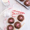 Candy Cane and Gingerbread Cheesecake Stuffed Cookies
