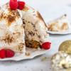No Churn Christmas Pudding Bombe Alaska