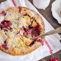 Cherry & Peach Pandowdy