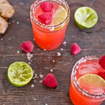 Thursday Tipples 05 / Raspberry Ginger Margaritas