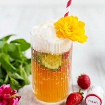 Pimm's Cup 'Spider' Ice Cream Float