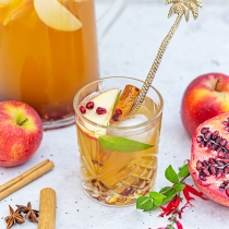 Apple Crumble Cider Punch