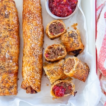 Veal and Chorizo Sausage Roll
